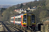 158866 and 158847, Hathersage 5/12/2012<br /> 1L10 1152 Liverpool Lime Street-Norwich