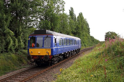 121020 on the 2A57 1800 Princes Risborough to Aylesbury at Little Kimble on the 4th August 2015