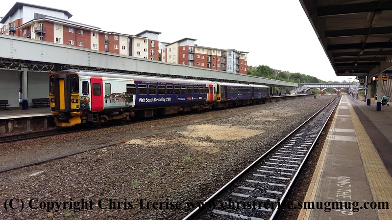 Class 143 and Class 153 at Exeter Central