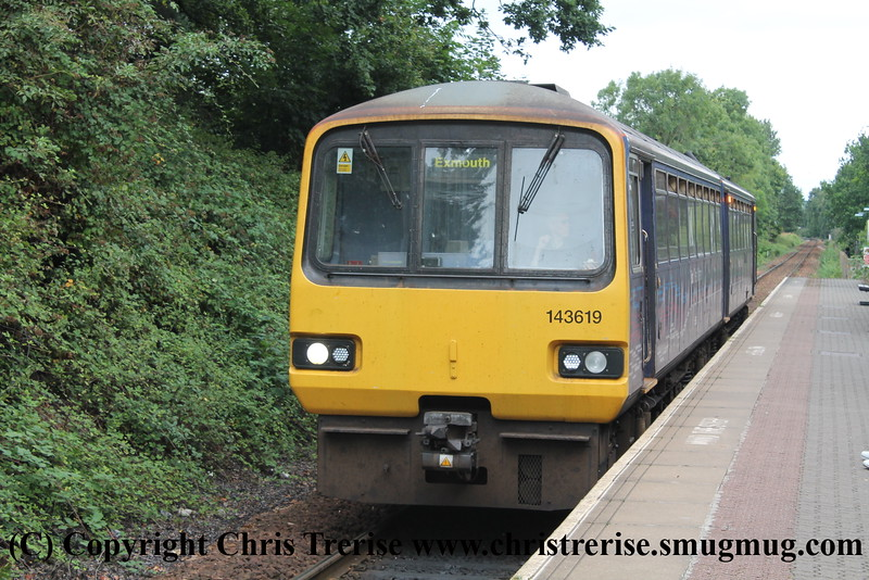 Class 143 at Digby & Sowton