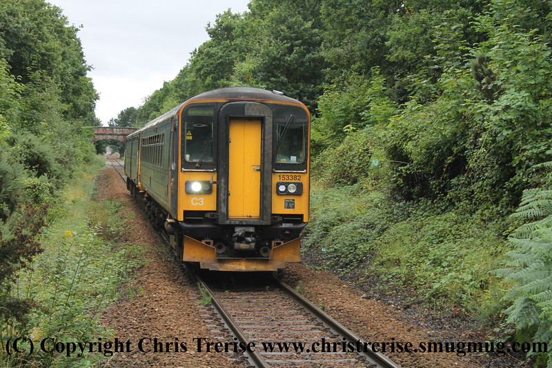 Class 153 and Class 143 at Digby and Sowton