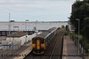 Class 153 Single Car DMU Set number 153 333 with Class 150/2 2 Car Sprinter DMU at the rear depart Starcross with 2T21 1524 Exmouth to Paignton.<br /> 27th August 2018