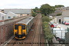 Class 150/2 2 Car Sprinter DMU Set number 150 263 departs Camborne with 2P88 1141 Penzance to Plymouth.<br /> 15th September 2018