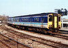 Class 150 DMU at Bristol