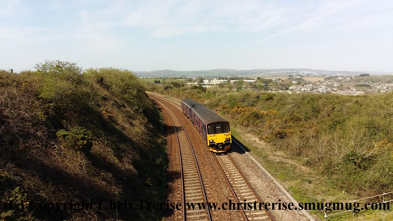Class 150 at Guildford Road