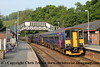 Class 153 and Class 150 at Bodmin Parkway
