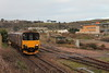 Class 150/1 2 Car Sprinter DMU Set number 150 101 passes Ponsandane with 2A07 0854 Penzance to St Ives.<br /> 20th December 2014