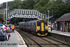 Class 150 2 Car Sprinter DMU number 150 247 at Bodmin Parkway with a Penzance service.<br /> 29th September 2012