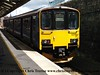Class 150/1 2 Car Sprinter DMU Set number 150 102 at Truro with 2F82 1451 to Falmouth Docks.<br /> 22nd July 2017