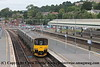 Class 150/0 3 Car Sprinter DMU Set number 150 002 arrives at Exeter St Davids with 2C67 0800 Cardiff Central to Paignton.<br /> 28th August 2018