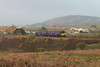 Class 150 2 Car Sprinter DMU Set number 150 122 passes Brea Village with 2C51 1755 Plymouth to Penzance.<br /> 22nd April 2015