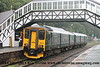 Class 150/2 2 Car 150 Sprinter DMU Set number 150 216 arrives at Bodmin Parkway with 2C42 0524 Bristol Temple Meads to Penzance.<br /> 22nd September 2018