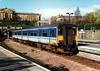 Class 150 at Edinburgh Waverley