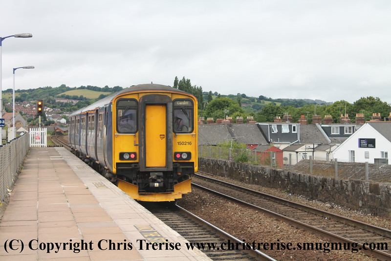 Class 150 at Exeter St Thomas