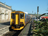 Class 150/2 2 Car Sprinter DMU Set number 150 249 at Penzance.<br /> 23rd October 2007