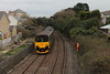 Class 150/0 3 Car Sprinter DMU Set number 150 002 passes Dolcoath with 2A86 1141 Penzance to Newton Abbot.<br /> 11th December 2013