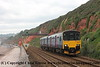 Class 150/1 2 Car Sprinter DMU Set number 150 120 passes Dawlish with 2F37 1421 Paignton to Exmouth.<br /> 21st August 2017