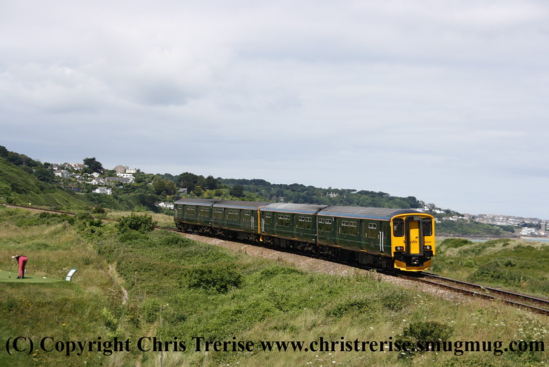 Class 150 at Porthkidney