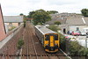 Class 150/2 2 Car Sprinter DMU Set number 150 265 arrives at Camborne with 2C45 0928 Exeter St Davids to Penzance.<br /> 15th September 2018