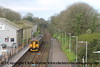 Class 150/2 2 Car Sprinter DMU Set number 150 248 departs Camborne with 2C42 0524 Bristol Temple Meads to Penzance. 1st April 2017