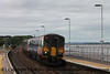 Class 153 Single Car DMU Set number 153 333 with Class 150/2 2 Car Sprinter DMU at the rear arrive at Starcross with 2T21 1524 Exmouth to Paignton.<br /> 27th August 2018