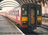 Class 155 2 Car Sprinter DMU Set number 155 344 at York.<br /> 29th January 1995