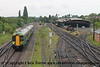 Class 172 3 Car DMU Set number 172 338 approaches Kidderminster with 2S22 0903 Worcester Foregate Street to Whitlocks End.<br /> 19th May 2017