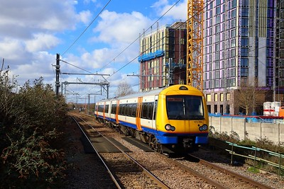 172001 on the 2J41 1120 Gospel Oak to Barking at Blackhorse Road on the 5th March 2019