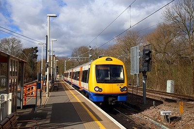 172007 on the 2J45 1150 Gospel Oak to Barking at Gospel Oak on the 7th March 2019