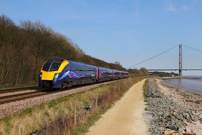 180109 on the 2R08 1503 Hull to York at Hessle on the 8th April 2015