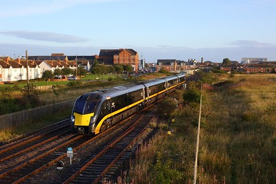180107 working 1A60 0643 Sunderland to London Kings Cross departing Hartlepool on 4 September 2020  GC, Class180, DurhamCoast