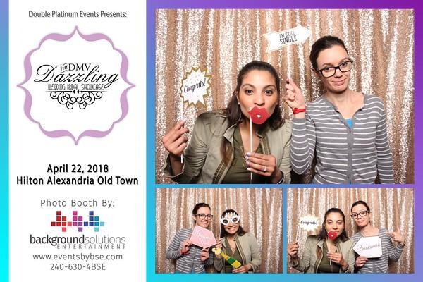 DMV Dazzling Wedding Showcase Photo Booth