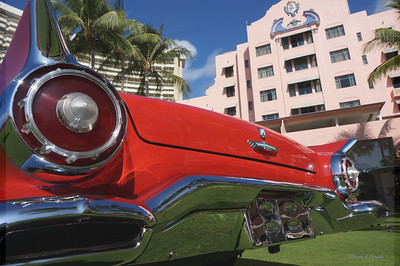 T bird at the Royal Hawaiian