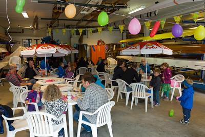 Das Sommerfest haben wir dieses jahr im Ruderclub am Stokkavatn veranstaltet.