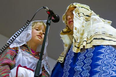 Und dann haben Maria und Josef ihren grossen Auftritt.