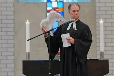 Die Engel waren das Thema des diesjährigen Gottesdienstes.