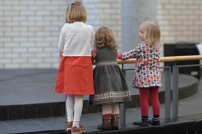 Die Kinder hatten beim Gottesdienst viel Spass.