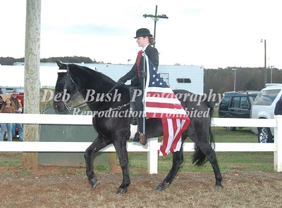 FLAG HORSE AND OPENING CEREMONY