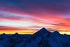 Mount Franklin at dawn, Arthurs Pass National Park