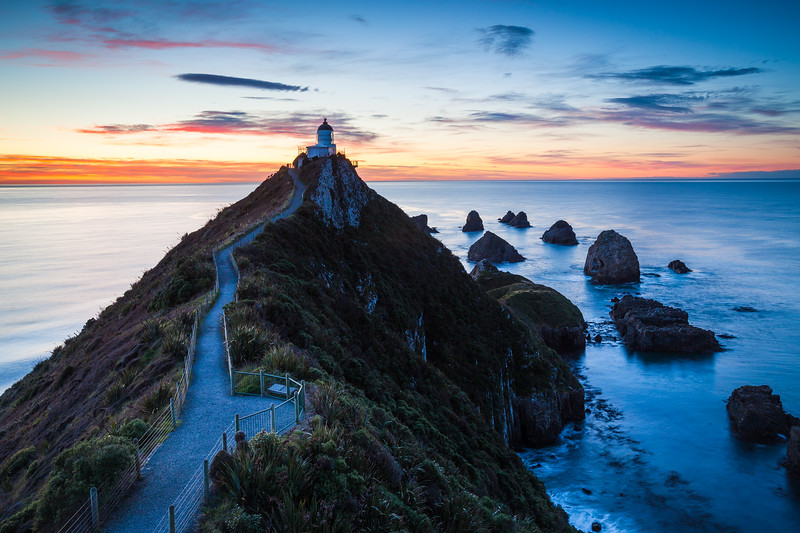 Nugget Point Lighthouse, Catlins
