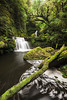 Tautuku River cascade, Catlins, Southland