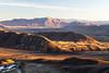 Longman Range and Ricki Spur (centre), Lake Heron Basin, Hakatere Conservation Park
