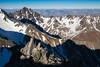 Mitre Peak viewed from Staircase Stream route, Mount Tapuae-o-uenuku, Inland Kaikoura Range