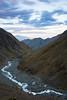 Hodder Valley at sunset, Mount Tapuae-o-uenuku, Inland Kaikoura Range