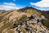 Yuletide Peak, Anatoki Peak background left. Kahurangi National Park
