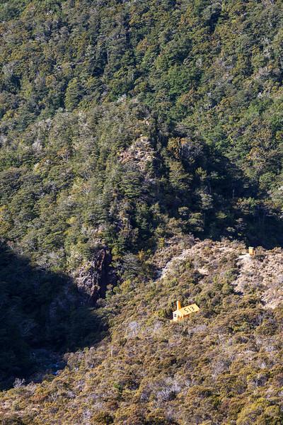 Top Wairoa Hut, Wairoa Valley, Red Hills, Mount Richmond Forest Park