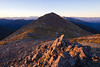 Early morning on Purple Top, Richmond Ranges, Nelson Marlborough