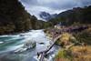 John Tait Hut & Travers River, Nelson Lakes National Park