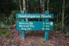Trail signage, Pureora Forest, Hauhungaroa Range