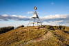 Trig station at summit of Pureora, Pureora Forest Park. Waikato/King Country